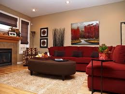 red and brown living room decor brown with a is another living