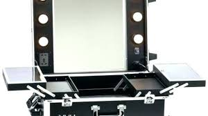 makeup case with lights and mirror portable makeup case with lighted mirror australia vanity desk