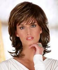 Medium Length Shag Hairstyles by Shag Haircuts For 50 Shag Hairstyles For