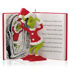 hallmark 2014 the grinch in disguise ornament home
