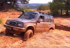 suzuki jimny 1991 toyota land cruiser vs suzuki vitara v6 4x4 off road mud water