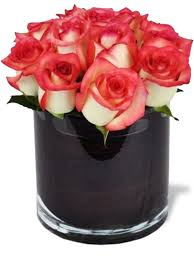 flower deliver pink tipped roses miami gardens florist flower delivery