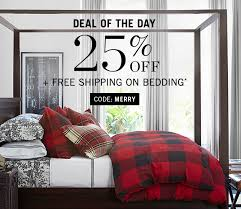 black friday bedding pottery barn black friday savings 25 off all bedding surprise