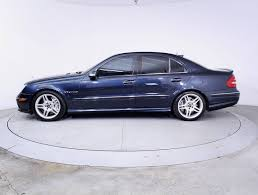 Mercedes Benz E 2003 Used 2003 Mercedes Benz E Class E55 Amg Sedan For Sale In Miami