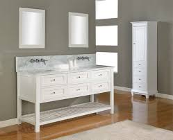 Wall Mounted Bathroom Vanity Cabinets by Fancy White Double Sink Bathroom Vanity Cabinets Accessories