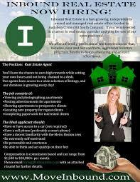 Resume Of A Real Estate Agent Inbound Real Estate Jobs
