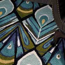 Peacock Area Rug Momeni Habitat Tufted Peacock Area Rug Reviews Perigold