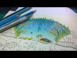colouring tutorial colour peta duck pond part1