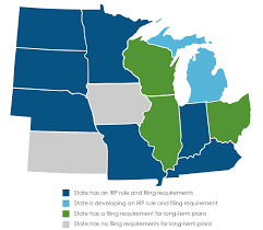 Map Of Midwestern States by Resource Planning Midwest Energy Efficiency Alliance
