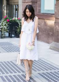 white summer dress 4 summer white dresses you need now just a tina bit