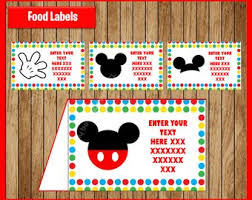 minnie mouse card table pink minnie mouse food tent cards instant download printable