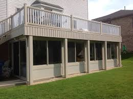 All Season Patio Enclosures This Is An All Season Sunroom We Built Under Our Composite Deck