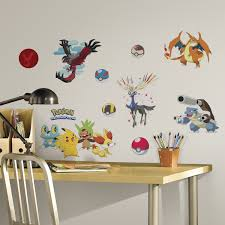 stunning decoration pokemon wall decor beautiful design roommates stunning decoration pokemon wall decor beautiful design roommates rmk2625scs xy pokemon peel and stick wall decals
