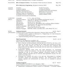 computer science resume template computer science resume sle computer science resume computer