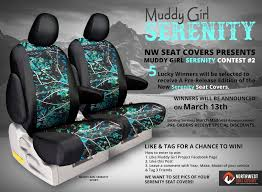 Camo Truck Seat Covers Ford F150 - nw seat covers presents muddy serenity contest 2 5 lucky