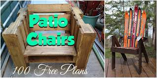 over 100 patio chair plans planspin com diy woodworking plans