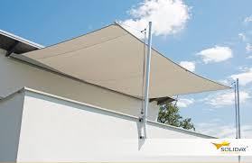 balkon wetterschutz sonnensegel für balkone solona sonnensegel