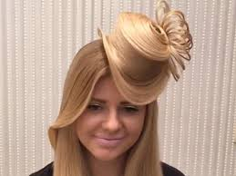 Schnelle Frisuren F Lange Haare Mit Pony by Irre Frisur Ein Hut Aus Haaren Ernsthaft Ja Und So Wird S