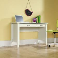 amazon com sauder shoal creek computer desk soft white finish