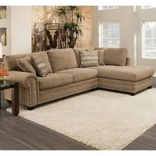 Albany Sectional Sofa Sectional Sofa With Nailhead Trim Wayfair Thedailygraff