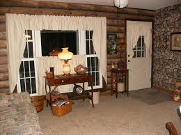Primitive Kitchen Curtains Fabulous Primitive Curtains For Kitchen Designs With Living Room