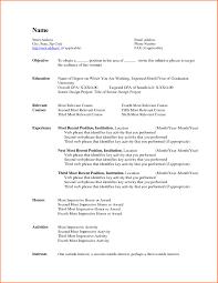 Resume Templates On Microsoft Word 2007 Free Resume Templates Microsoft Word 2007 Resume Format In Ms Word