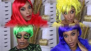 blue wig spirit halloween diy last minute halloween ideas 2015 lil kim crush on you