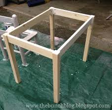 how to build a table base how to build a wooden table home plans
