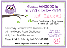create invitations free printable owl baby shower invitations other printables
