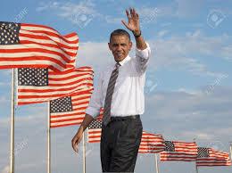 Barack Obama Flag President Barack Obama Waving Against A Backdrop Of Flags Of