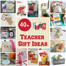 40 gift ideas for teachers organize and decorate