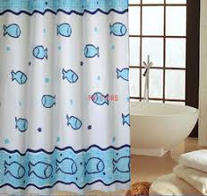 discount fish shower curtains 2018 fish shower curtains on sale