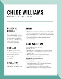 Resume Ongoing Education Blue Bordered Corporate Resume Templates By Canva