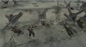 D Day Map D Day Map Fictional Ish Image Company Of Heroes Canada At War