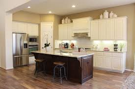 kitchens with white cabinets white kitchen island and chromed