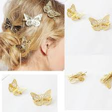 barrette clip 1 pcs butterfly hair clip for women barrette hairpins metal hair