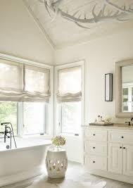 ivory roman shades design ideas
