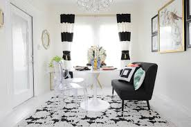 100 black white u0026 botanical dining room reveal monica wants it