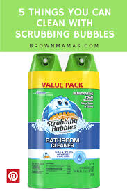 Dow Bathroom Cleaner by 5 Things You Can Clean With Scrubbing Bubbles Brown Mamas