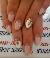 oval leuka nyxia short and thin fingers νύχια nails art nixia