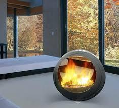 modern portable fireplace design table art ideas indoor non