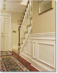 install a traditional chair rail and wainscot u2013 you can do it