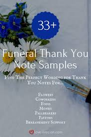 best 25 funeral thank you notes ideas on pinterest funeral