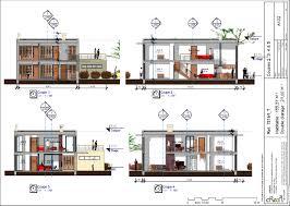Villa Moderne Tunisie by Cuisine Plan T Plan Maison Contemporaine R Chambres Et Double