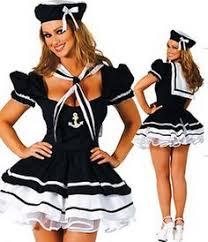 Sailors Halloween Costumes Womens Sailor Costume Navy Ship Captain Halloween Fancy Dress