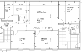 Commercial Floor Plans Free Office Building Floor Plan With Commercial Office Building Plans