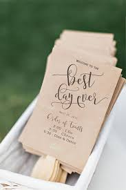 ceremony fans 25 best diy wedding programs ideas on wedding church