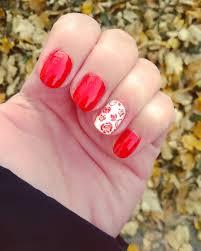 red nail art designs ideas design trends premium psd vector