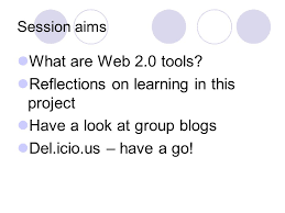 web 2 0 project exploration of the process to develop occupational