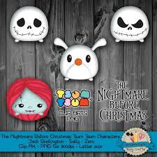 digital download the nightmare before christmas tsum tsum